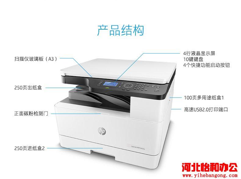 惠普打印机加墨粉步骤