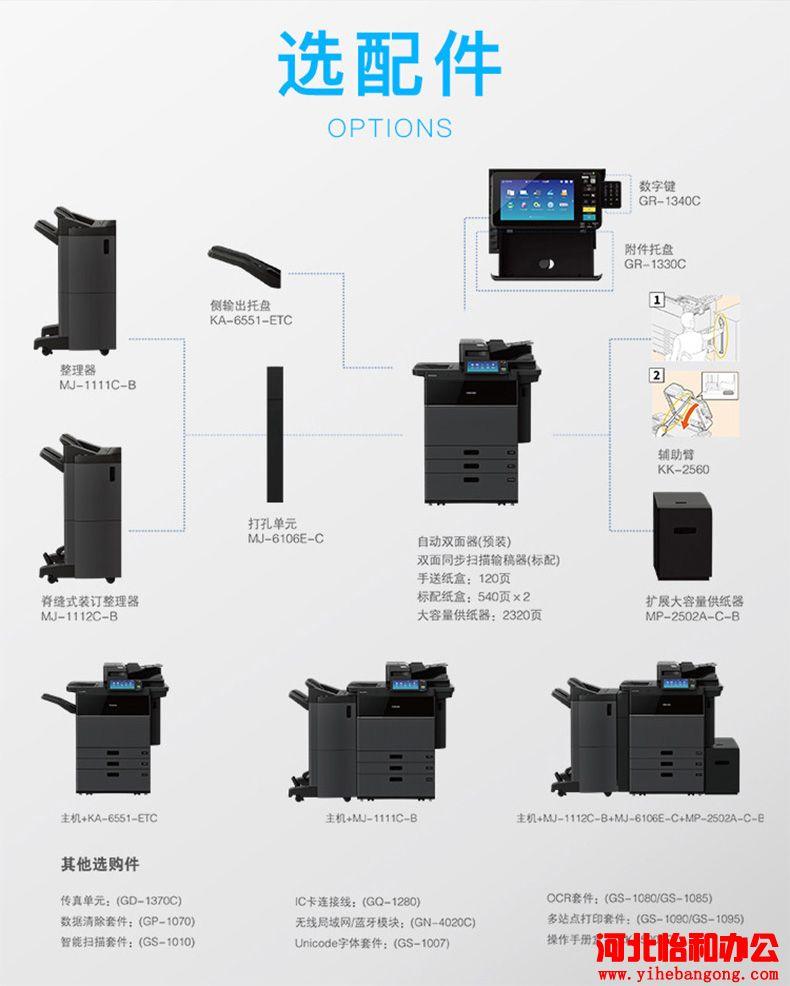 东芝复印机的使用方法图解